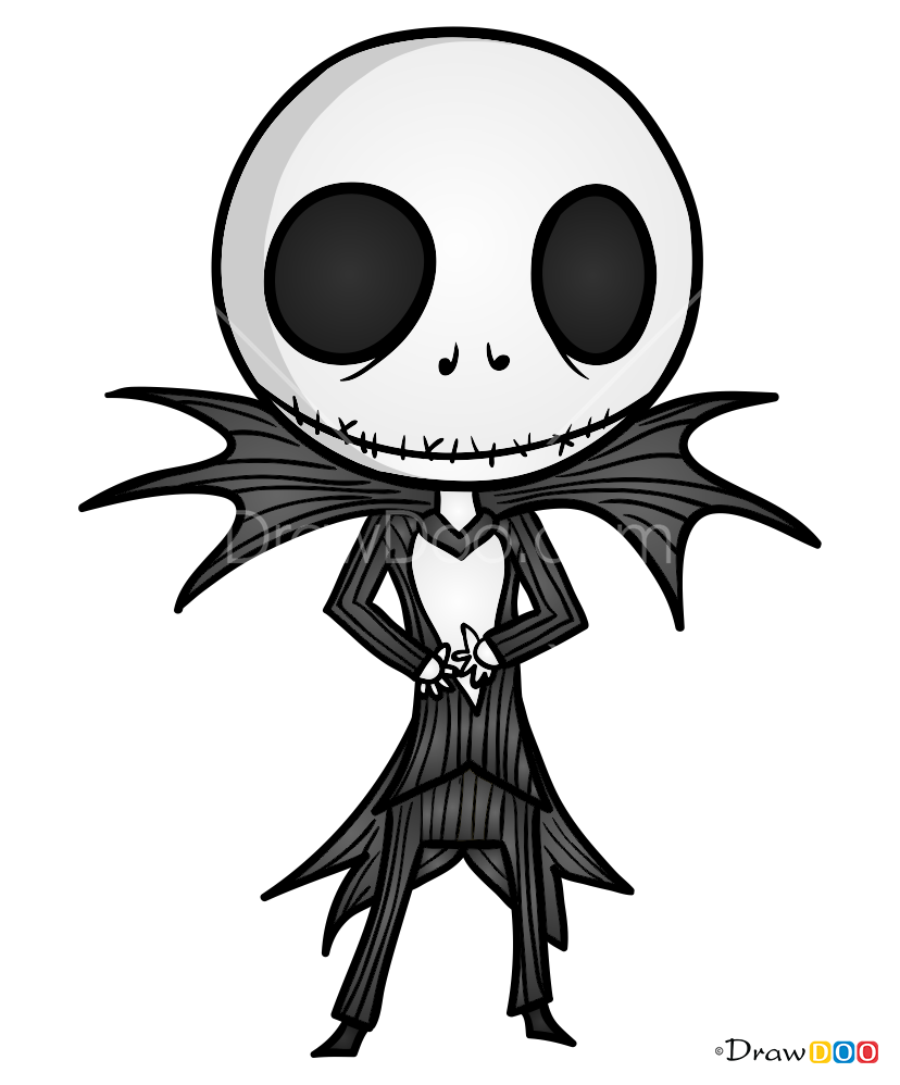 How To Draw Jack Skellington Halloween