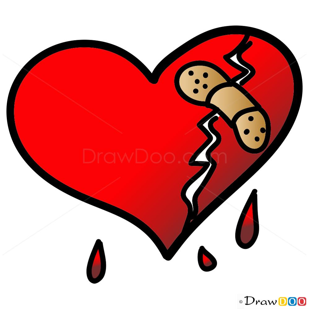 drawings hearts