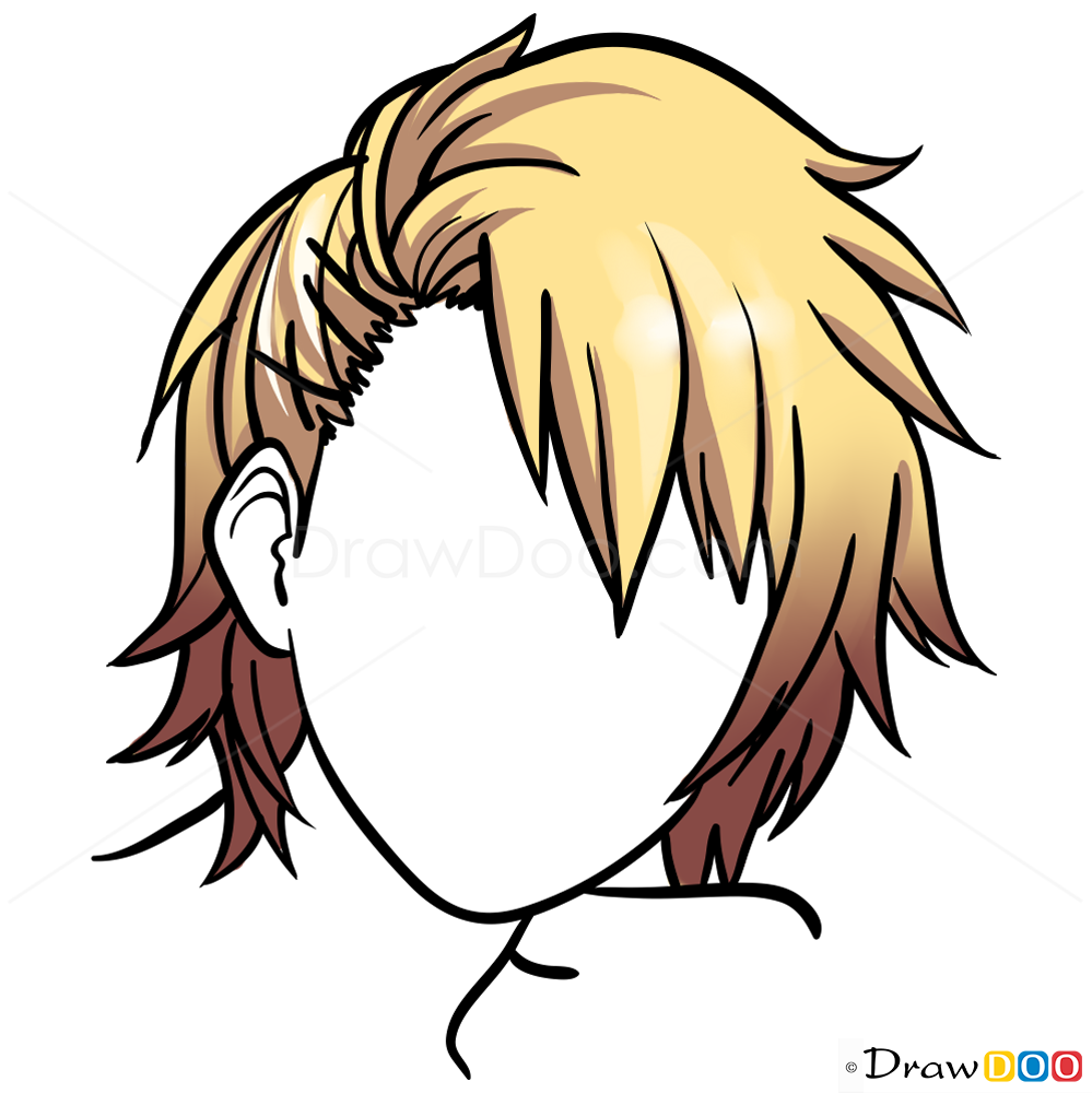 Hairstyle Drawings Lesson Step By Drawing
