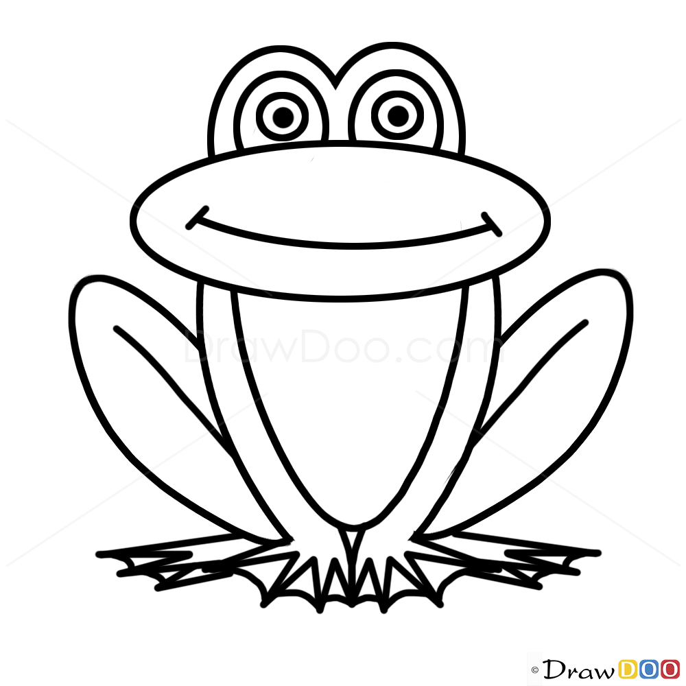 How to Draw a Rainforest Frog 6 Steps with Pictures