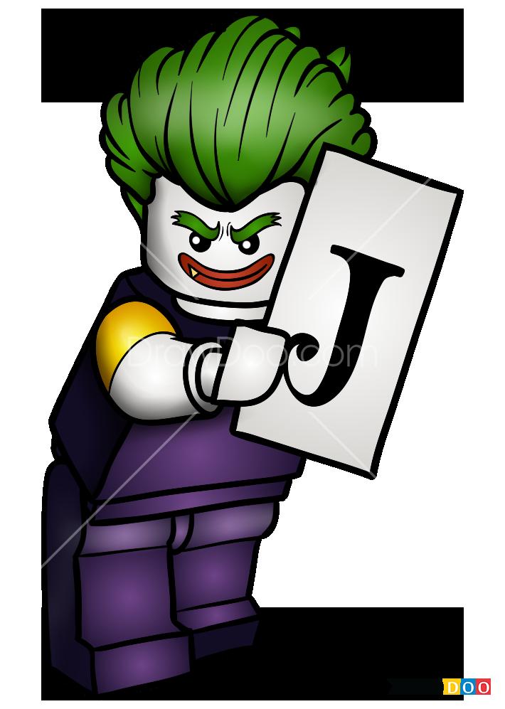 How To Draw Joker 2 Lego Batman Movie