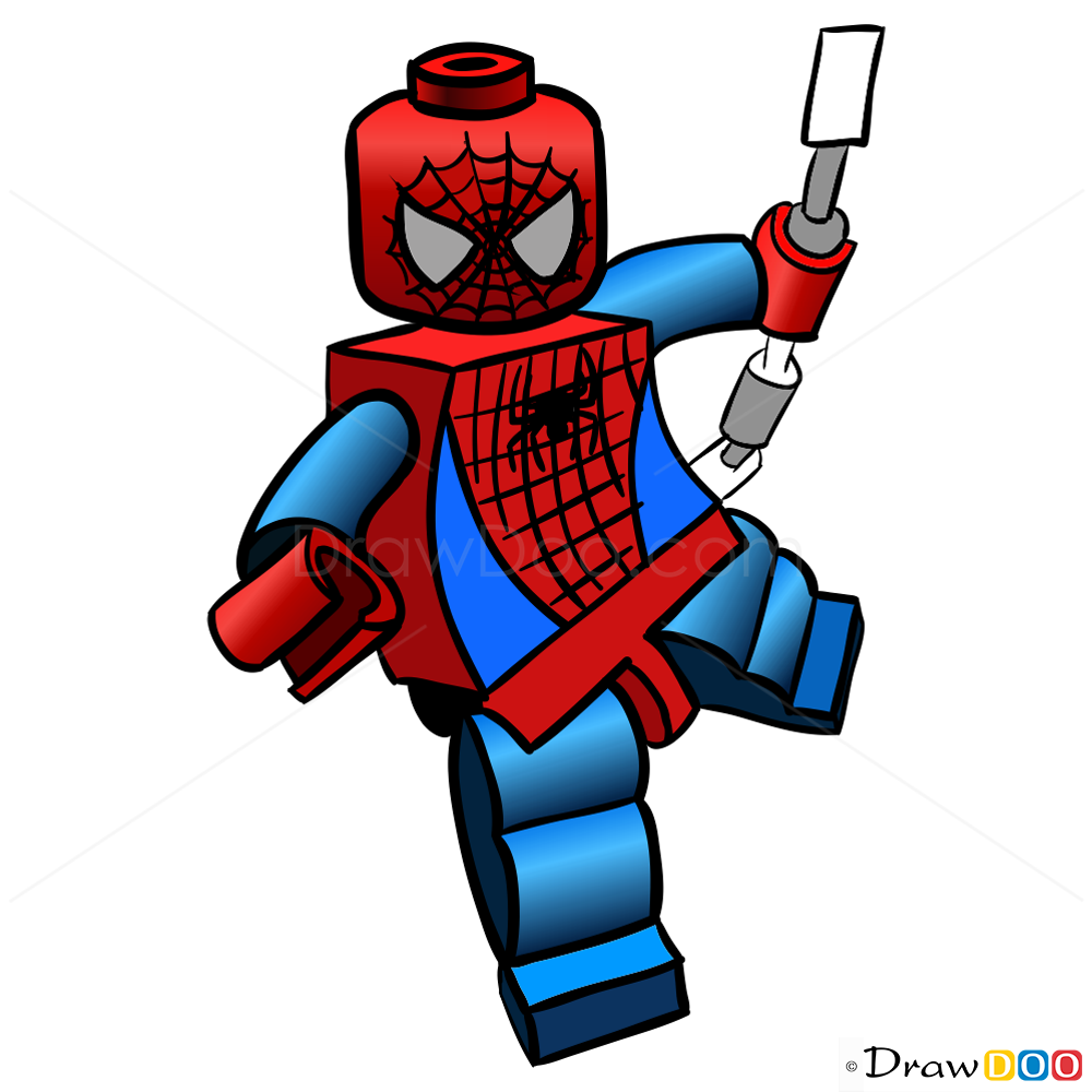 How To Draw Spider-man, Lego Super Heroes