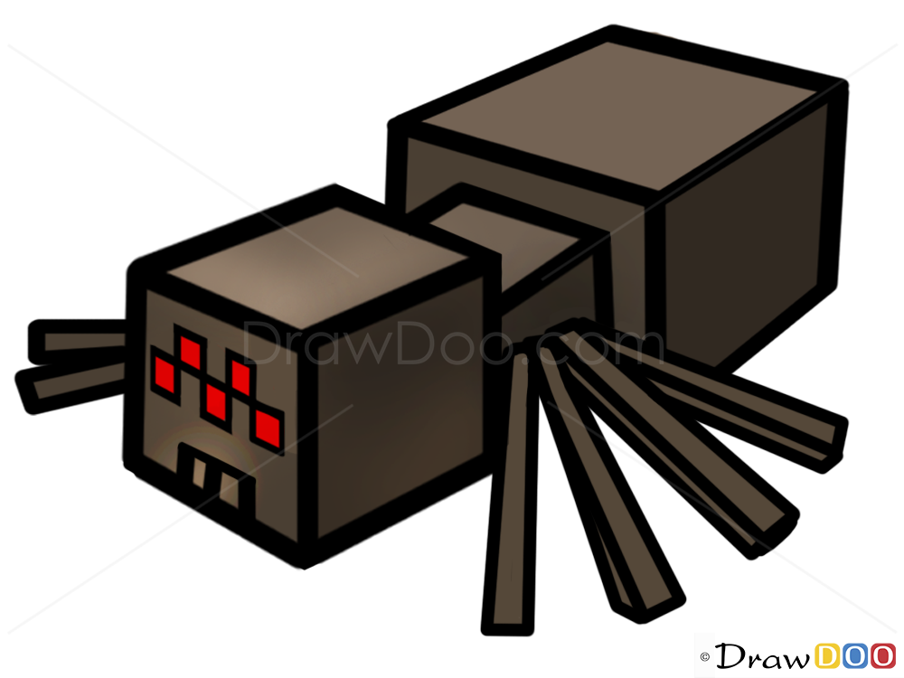 minecraft how to ride a spider