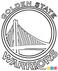 How To Draw Golden State Warriors Basketball Logos