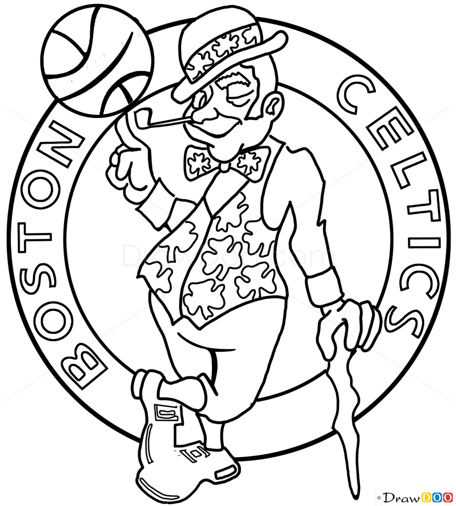 Boston Celtics Free Coloring Pages