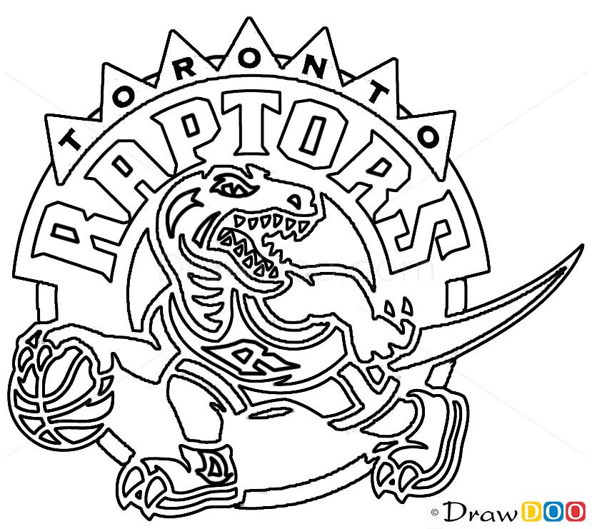 raptors coloring pages - photo #19