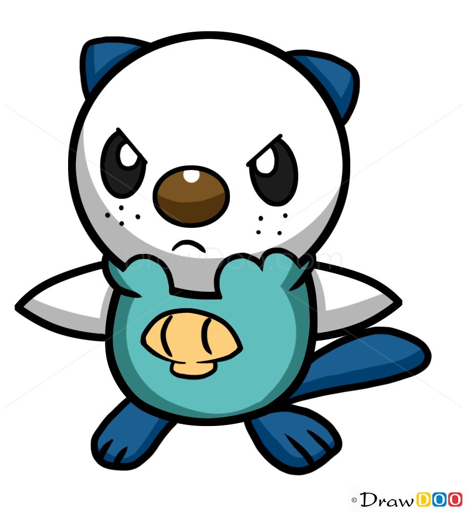 How to draw oshawott pokemons how to draw drawing ideas draw