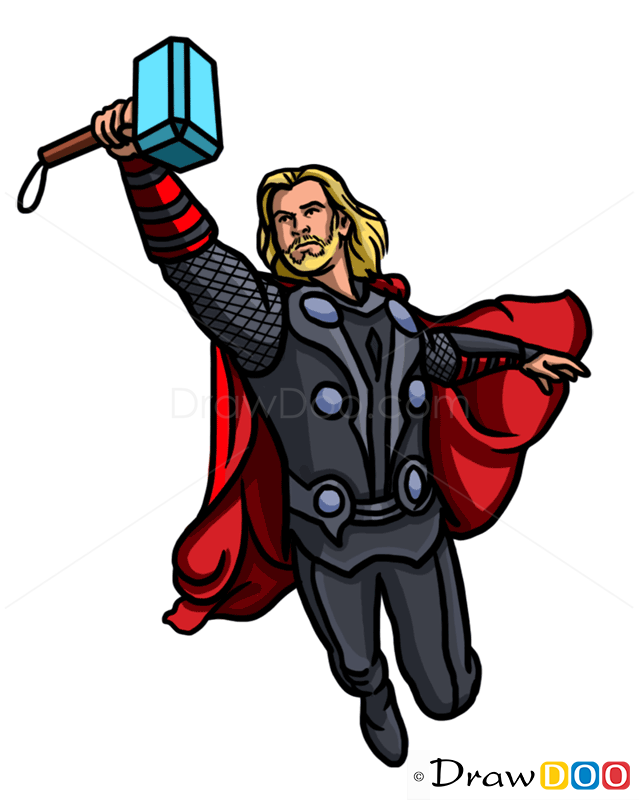 easy thor drawings - photo #34