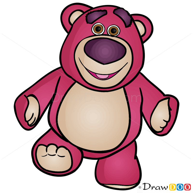 How To Draw Lotso Toy Story