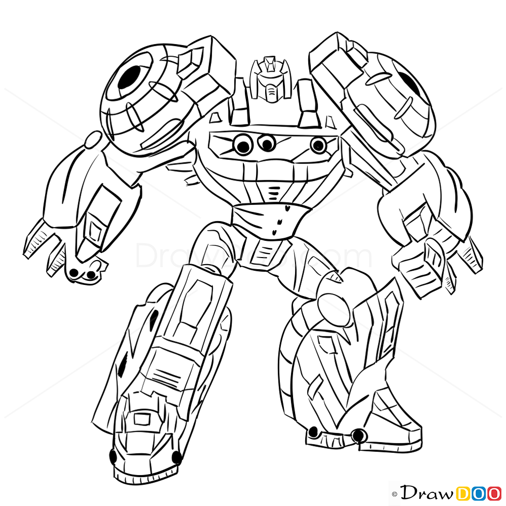 How To Draw Grimelock Transformers