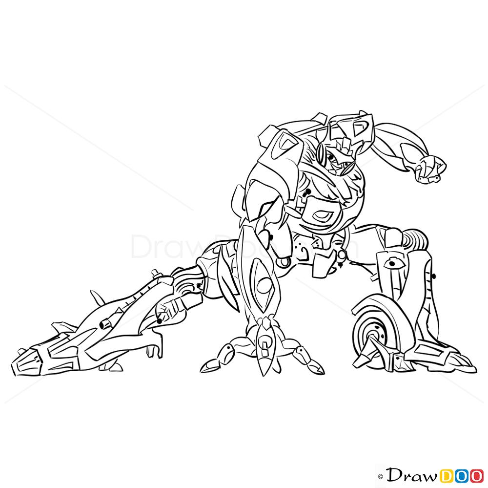 Optimus Prime Head Coloring Page