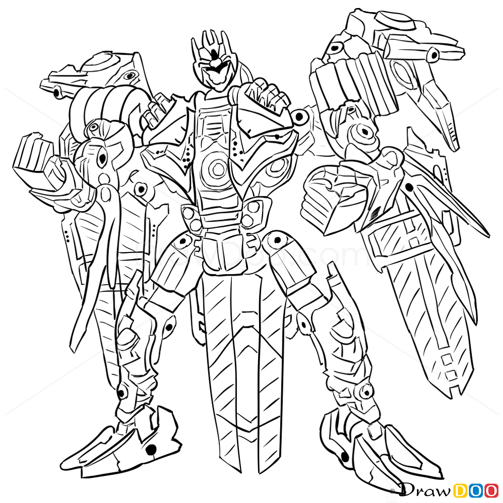 How To Draw Soundwave Transformers